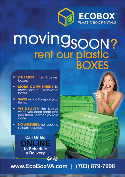 Ecobox plastic box rentals