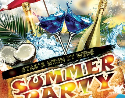 The Stag summer party Flyer Design