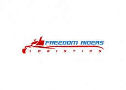 Freedom Riders Logistics logo and branding