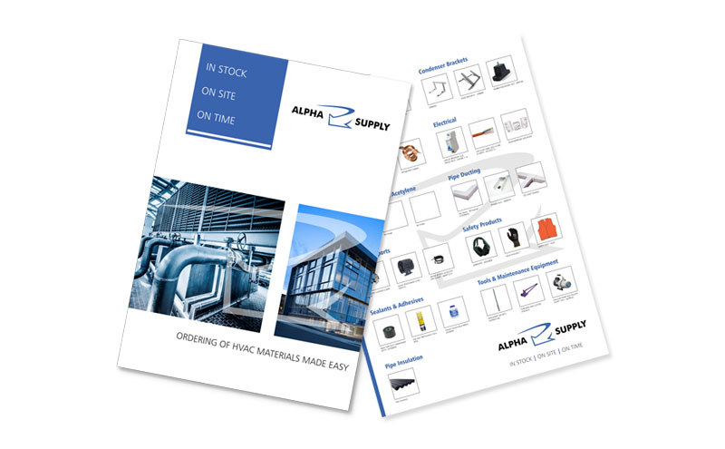 HVAC Brochure design