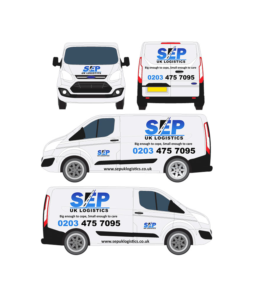 SEP Van Wrap Wrapper design