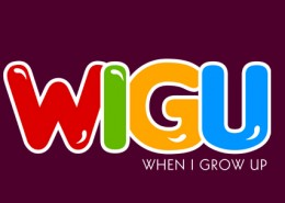 When we Grow up logo design