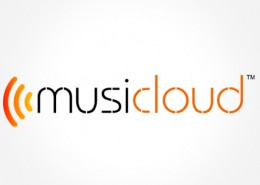 Music cloud logo