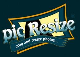 Pic Resize logo design