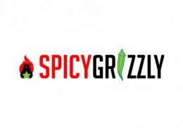spicy grizzly logo and branding