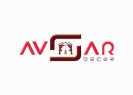 Avsar Decor logo branding