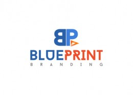 Blue Print logo and branding