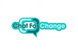 Chat For Change logo and branding