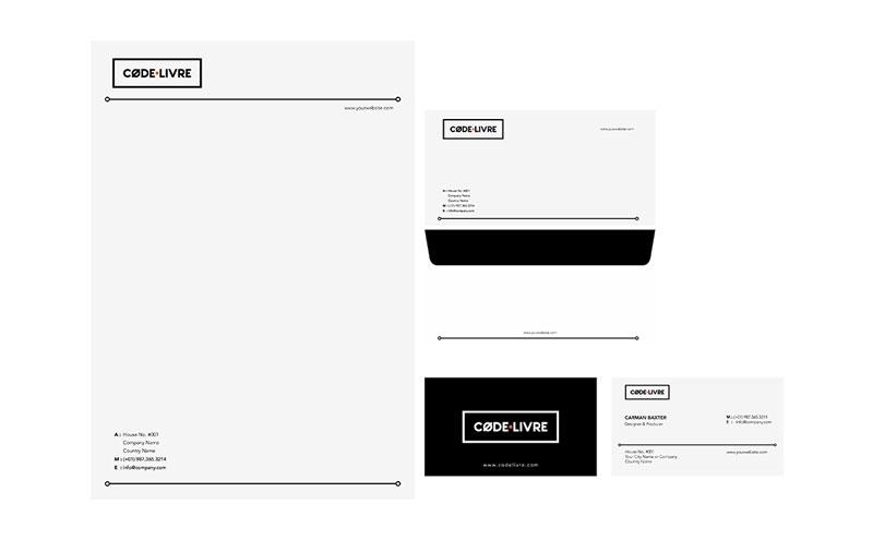 Code Livre Corporate Identity design