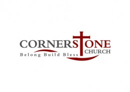 Corner Stone Church logo and branding