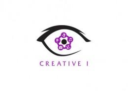 Creative I logo and branding