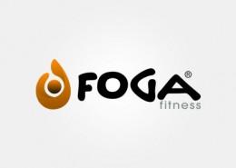 Foga Fitness logo and branding