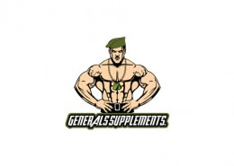 General Suppliments logo and branding