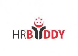 HR Buddy logo and branding