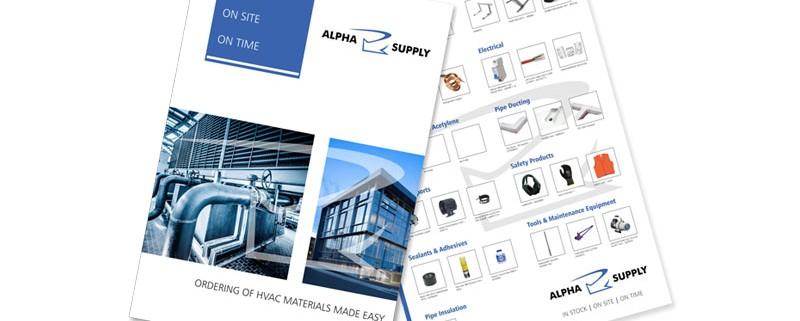 HVAC Brochure design