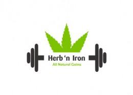 Herb'n Iron logo and branding
