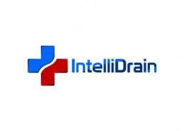 Intellidrain logo and branding