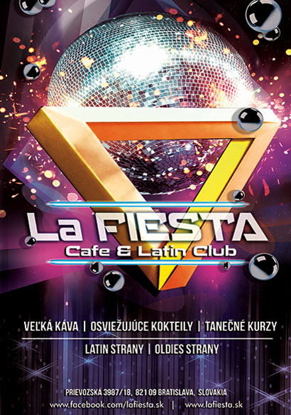 La Fiesta Flyer design and branding