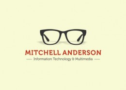Mitchell Anderson logo and branding