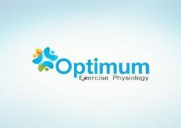 Optimum Exercise Physiology logo and branding