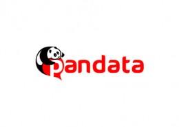 Pandata logo and branding