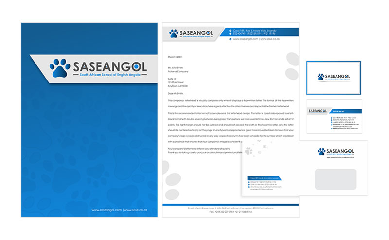 SASEANGOL Corporate Identity design