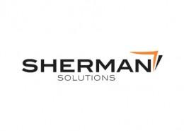 Sherman Solution logo and branding