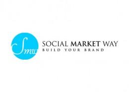Social Market Way logo and branding
