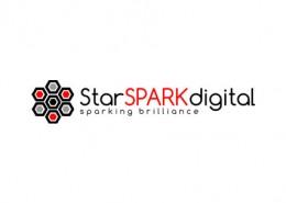 Starspark Digital logo and branding