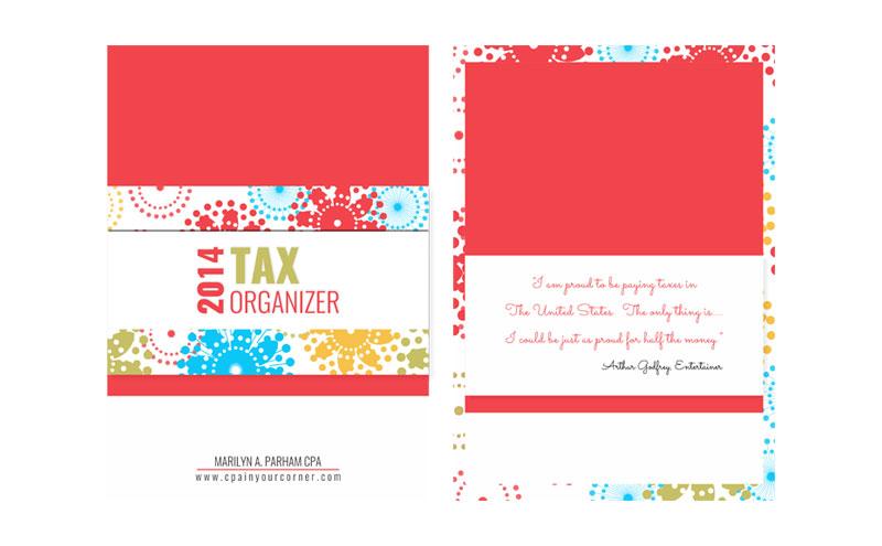 Tax Organizer design