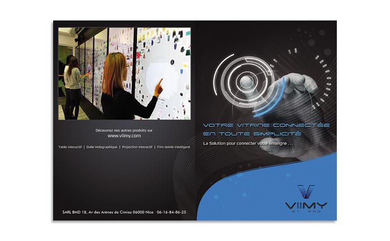 VIIMY Brochure cover design